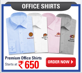 Office Shirts starts at Rs.650