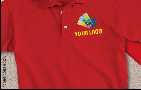 Embroidered Polo T-shirts starts at Rs.325